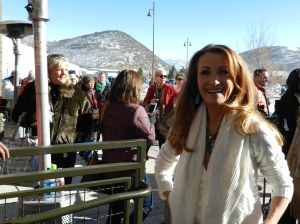 Jane Seymour at the Eccles Theater for the premiere of Austenland at Sundance.